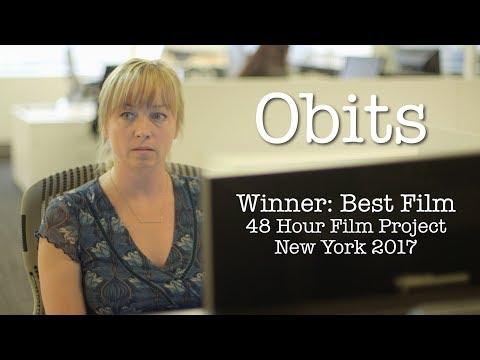 Obits :: WINNER 48 Hour Film Project, New York, 2017