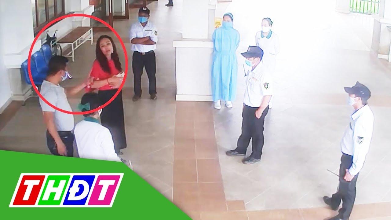Khởi tố người đấm bảo vệ bệnh viện khi được đề nghị đo thân nhiệt | THDT