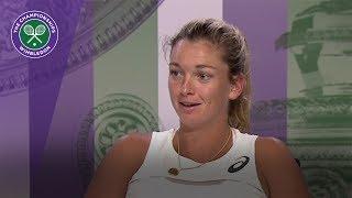 Coco Vandeweghe Wimbledon 2017 quarter-final press conference