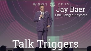 Gambar cover Talk Triggers Jay Baer Full Length Keynote Speaker  - Word of Mouth - Customer Experience