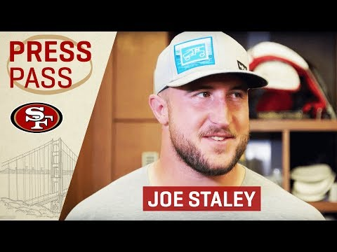 Joe Staley: 'Mike McGlinchey Has Been Huge for Me This Year' | San Francisco 49ers