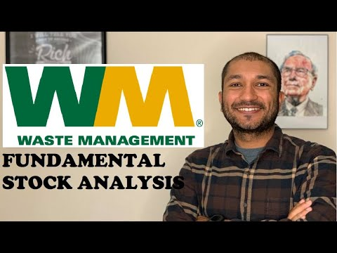 Waste Management (WM) Fundamental Stock Analysis - Value Investing
