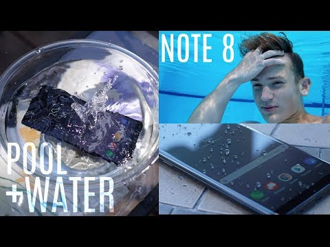 Ultimate Galaxy Note 8 Water + Pool Test!