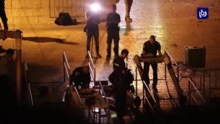 جلالة الملك يؤكد لنتنياهو ضرورة إزالة أسباب الأزمة المستمرة في الحرم القدسي الشريف - (25-7-2017)