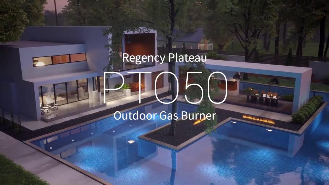 Regency Pto50 Outdoor Gas Fireplace