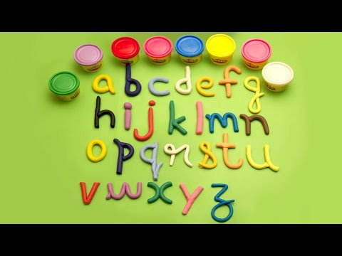 Play Doh Alphabets Song | ABC Kids Video And Song