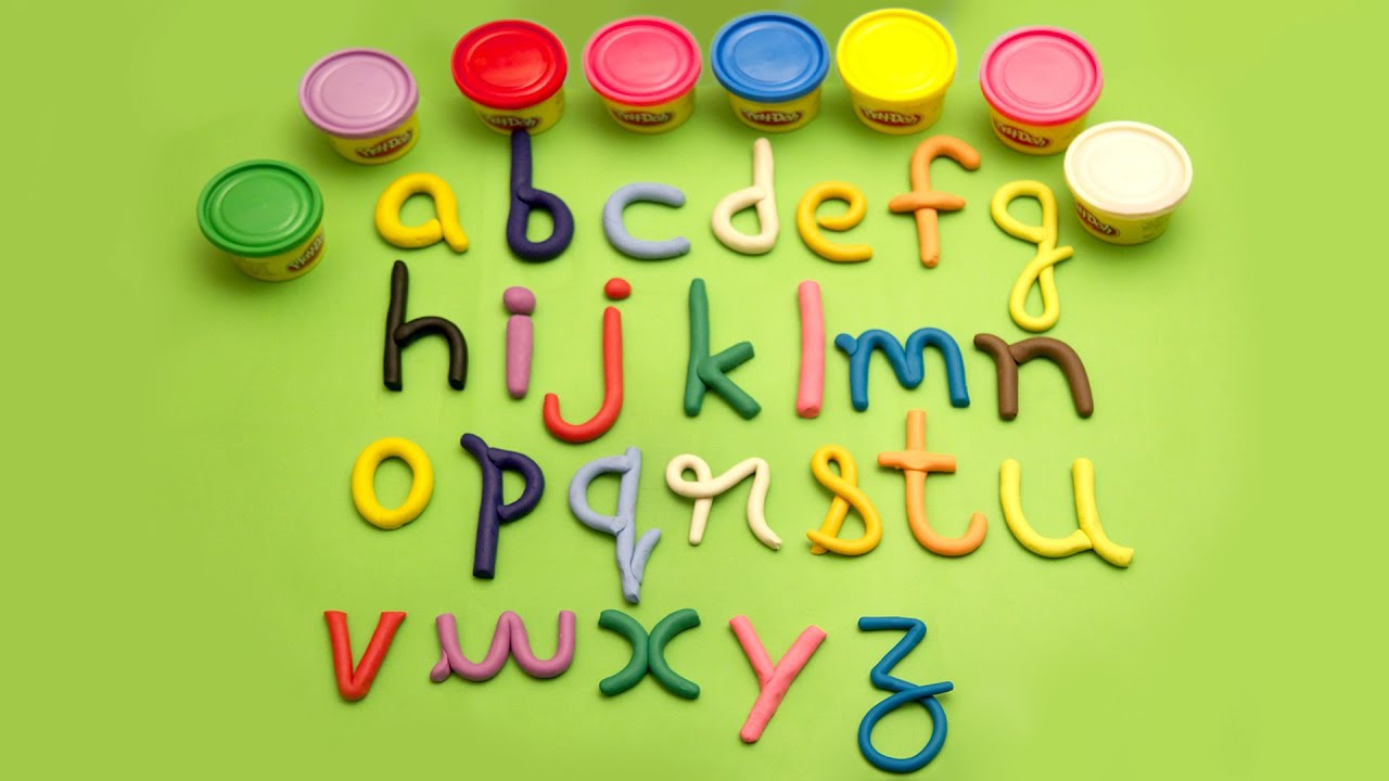 play doh alphabets song abc kids video and song youtube. Black Bedroom Furniture Sets. Home Design Ideas