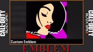 Black Ops 2 Beautiful Girl Emblem (SEXY)