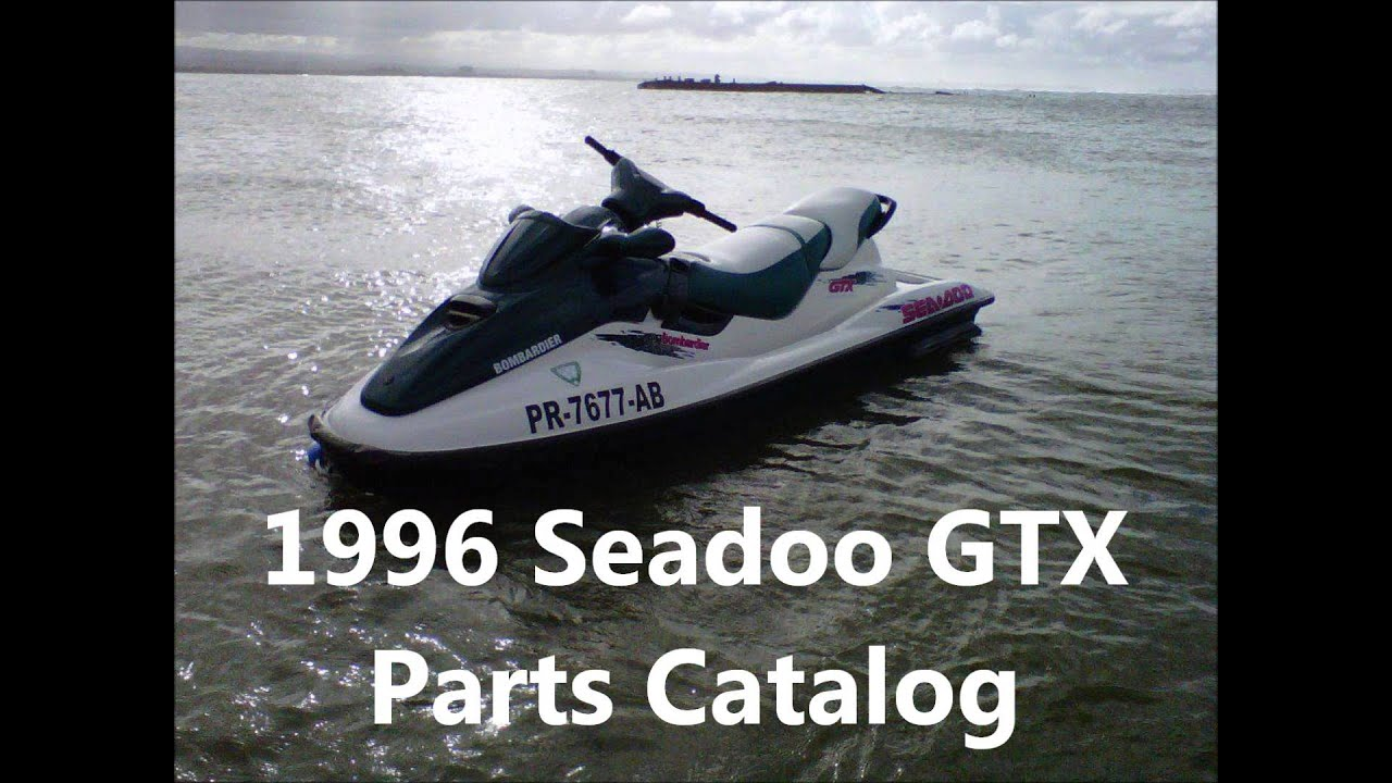 jet ski 1996 seadoo gtx operators guide parts specifications rh youtube com 1996 Seadoo XP Wiring Sea-Doo Bombardier Jet Ski