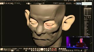 TG15 - Live sessions - Sculpting in ZBrush