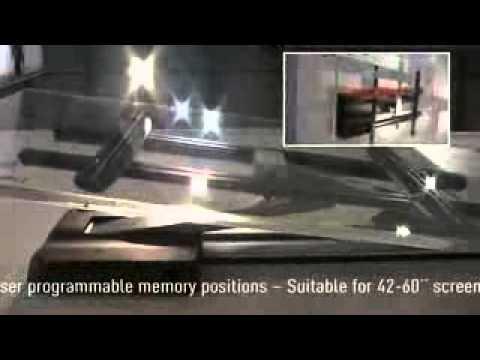 support tv motoris vogel 39 s 6455 glider youtube. Black Bedroom Furniture Sets. Home Design Ideas