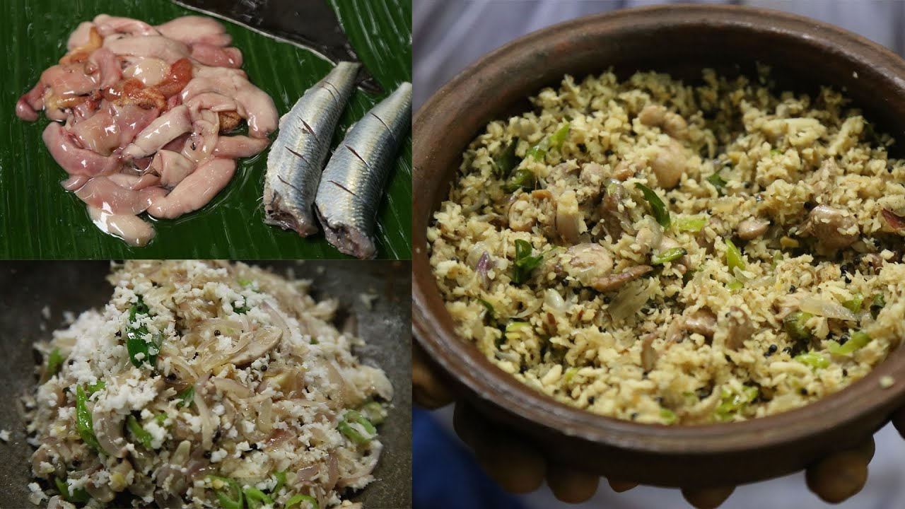 മീൻ മുട്ട വെച്ച് രുചികരമായ തോരൻ ഉണ്ടക്കിയാലോ | Kerala Style Sardine Egg Easy Recipe