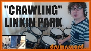 ★ Crawling (Linkin Park) ★ Drum Lesson PREVIEW | How To Play Song (Rob Bourdon)