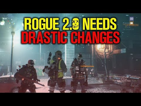ROGUE 2.0 NEEDS DRASTIC CHANGES (The Division) 1.8 PTS Game Play