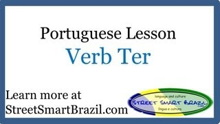 Baixar Portuguese Lesson: Verbo Ter, Present Tense & Pronunciation Tips