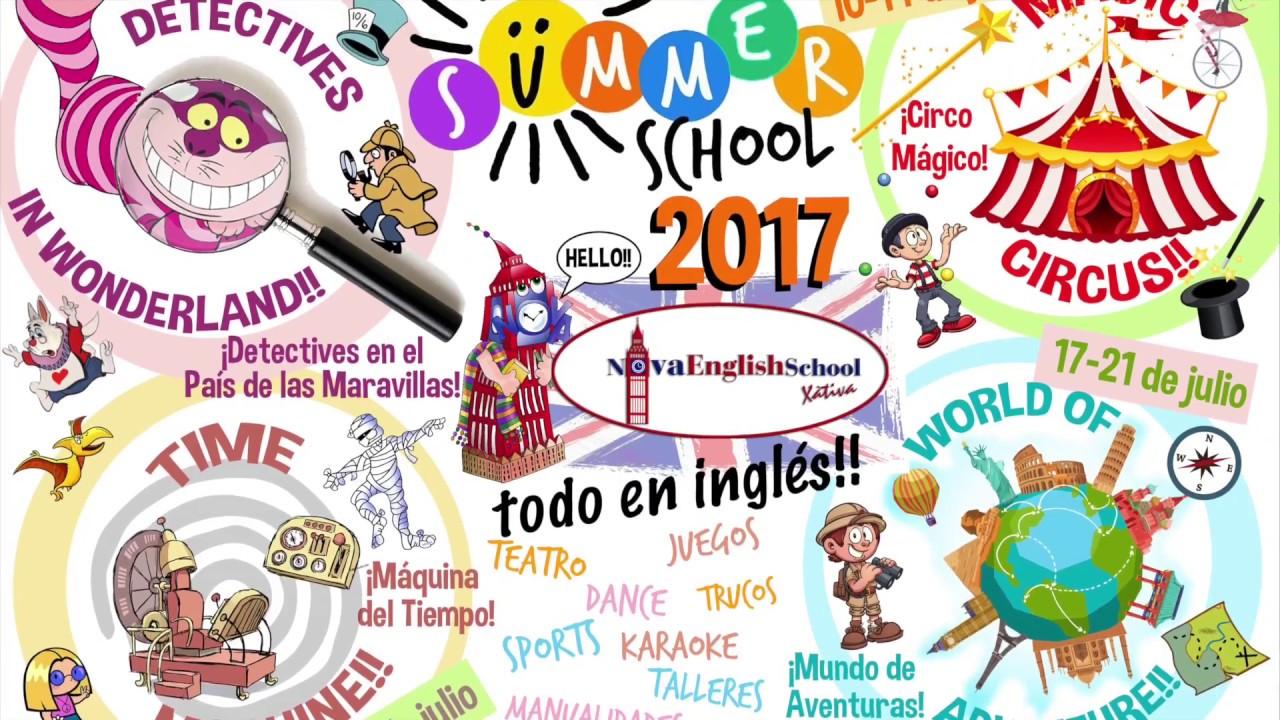 Nova English Summer School 2017 summary