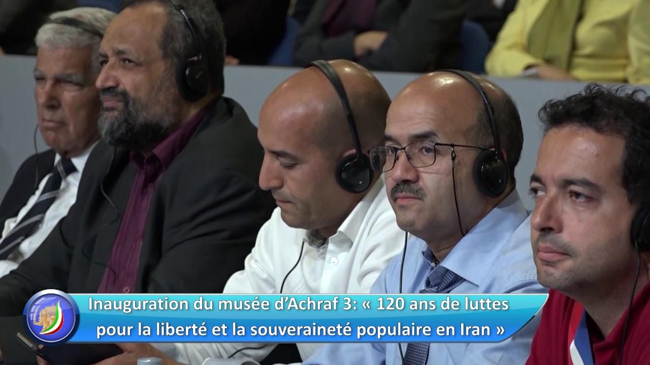 Hervé Saulignac à Achraf 3 – Rassemblement pour un Iran libre