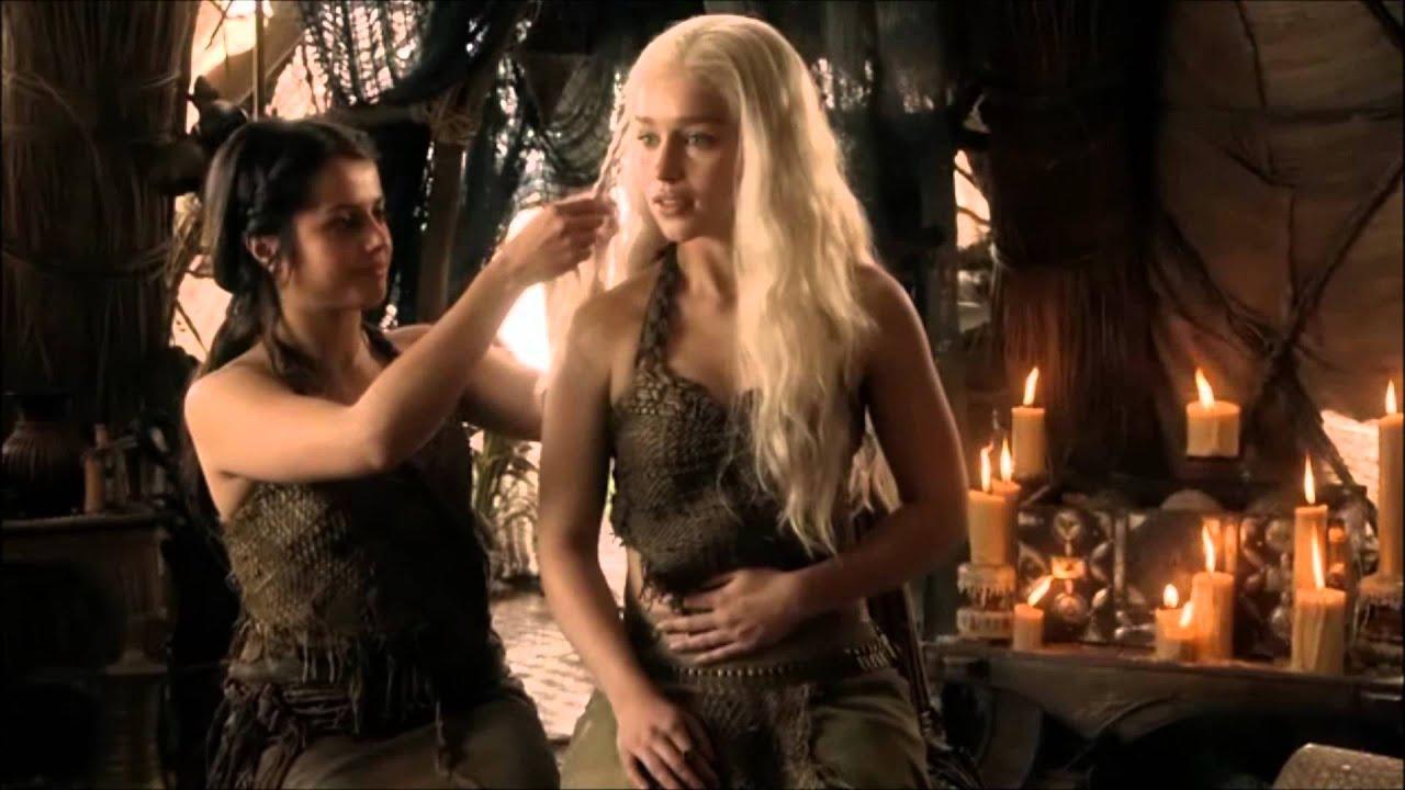 Daenerys targaryen and khal drogo wallpaper daenerys targaryen wedding - Khaleesi Daenerys Targaryen And Khal Drogo From Game Of Thrones