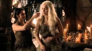 Khaleesi Daenerys Targaryen and Khal Drogo from Game of Throne…