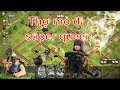 NMT | Clash of clans | Combo Thợ mỏ đi super queen farm hall 12