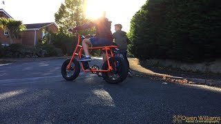 Super 73 copy (Mario E-bike) Bike Ride (HD)
