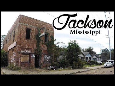 JACKSON MISSISSIPPI - DRIVING THROUGH HOODS & GHETTOS