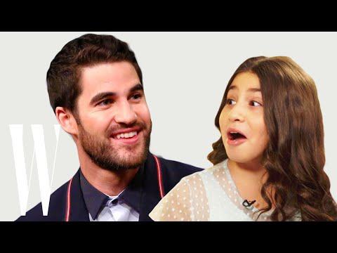 Darren Criss Gets ed by a Cute Little Kid  Little W  W Magazine