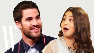 Darren Criss Gets Interviewed by a Cute Little Kid | Little W | W Magazine