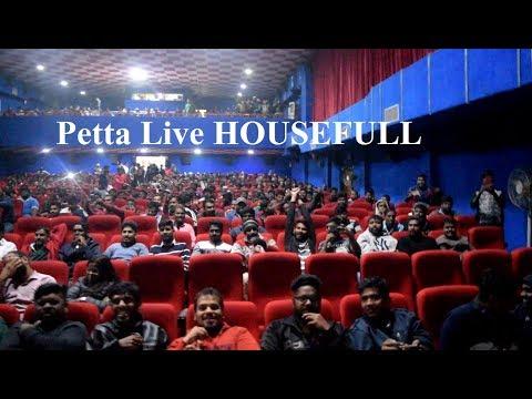 Petta Public Review Reaction First Day First Show Live Inside Theatre | Public Talk | Rajinikanth