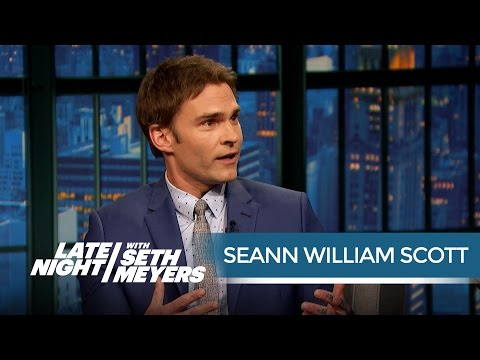 Seann William Scott Remembers Will Ferrell's Most Naked SNL Sketch  Late Night with Seth Meyers