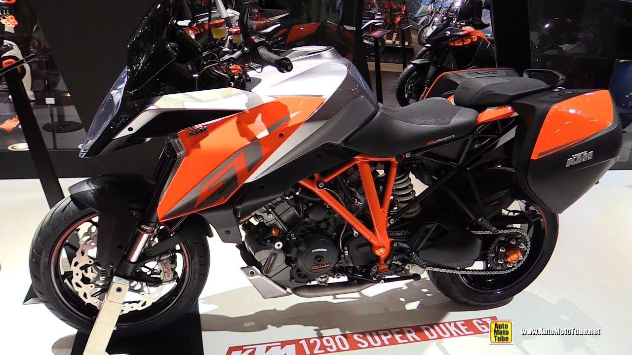 2016 ktm 1290 super duke gt walkaround 2015 salon de la moto paris youtube. Black Bedroom Furniture Sets. Home Design Ideas