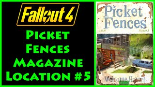 Fallout 4 - Picket Fences - Weston Water Treatment Plant - 4K Ultra HD