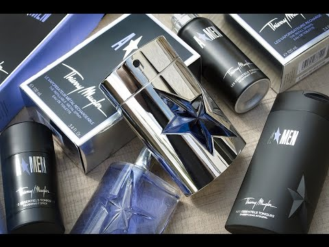 Thierry Mugler Angel Men/A*Men Fragrance Review