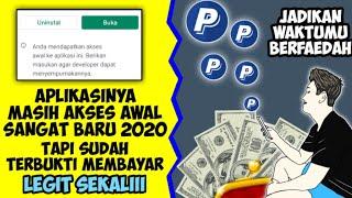 💵Penghasil uang cepat baru 2020   Aplikasi penghasil uang tercepat 2020 terbukti membayar