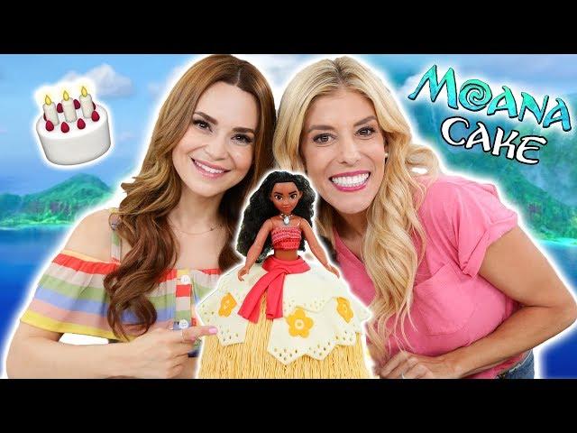 Making A Moana Princess Cake W Rebecca Zamolo Videos