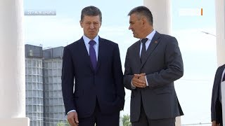Визит спецпредставителя Путина. Дмитрий Козак в Приднестровье