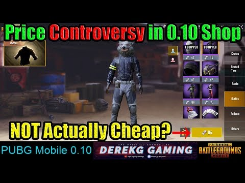 SHOP CONTROVERSY in PUBG Mobile 0 10 - Prices Too Good To Be