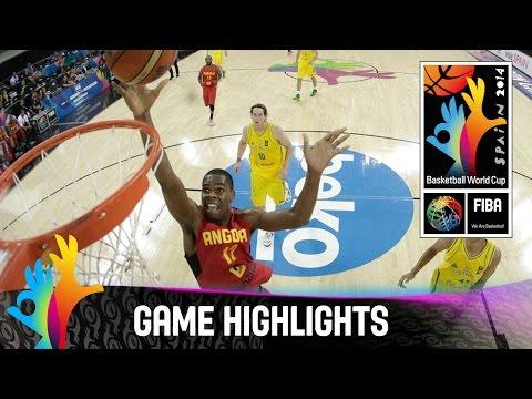Australia v Angola - Game Highlights - Group D - 2014 FIBA Basketball World Cup