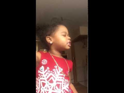 My 2 year old grand daughter Khloe singing zendaya bottle you up
