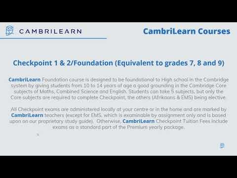 Why CambriLearn? - with Hugo Mendes