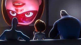 INCREDIBLES 2 Legal Superheroes Scene (Animation, 2018)