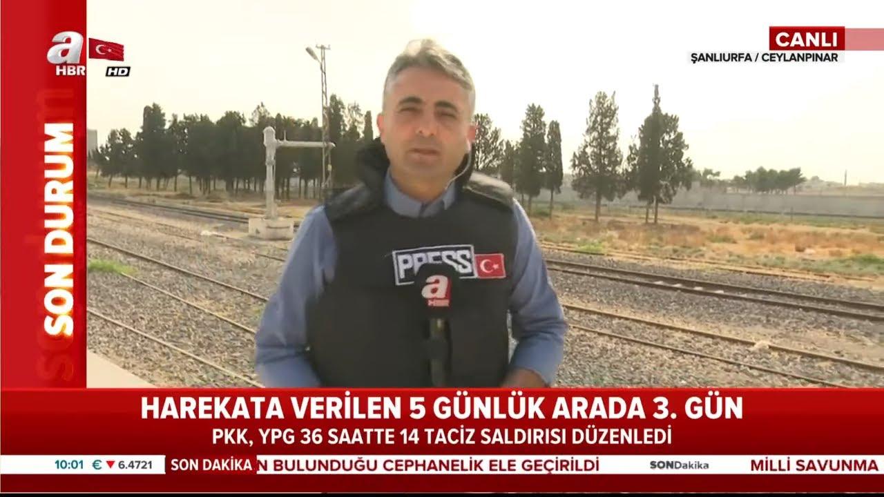 Son Dakika: YPG, Anlaşmayı İhlal Etti: 1 Şehidimiz Var! / A Haber