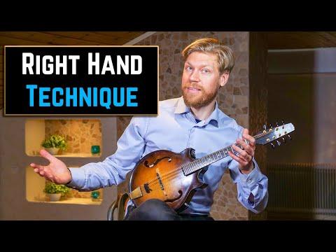 Mandolin Lesson - Right Hand Exercise