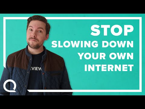10 Things You're Doing that Slow Down Your Internet Speed