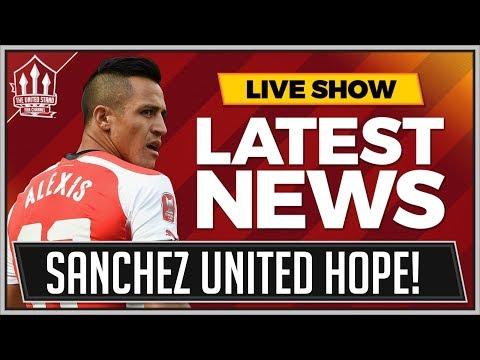 Alex SANCHEZ Open To MANCHESTER UNITED Transfer! Manchester United Transfer News