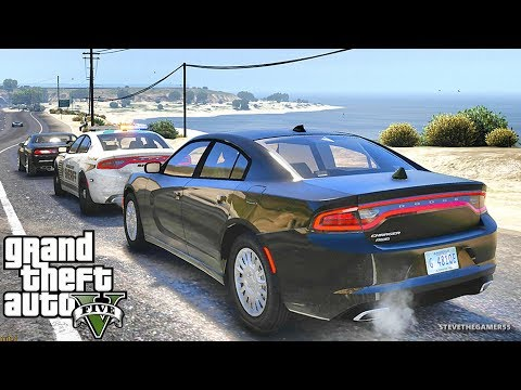 GTA 5 MODS LSPDFR 962  - CHARGER HIGHWAY PATROL!!! (GTA 5 REAL LIFE PC MOD)