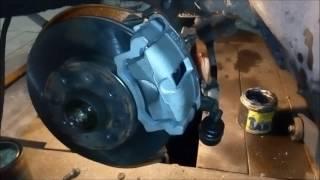 видео Задние дисковые тормоза на Приору: нюансы