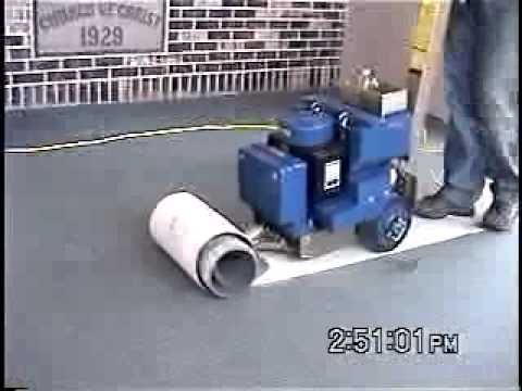 WalkBehind Floor Scrapers Carpet Removal YouTube - Mechanical floor scraper