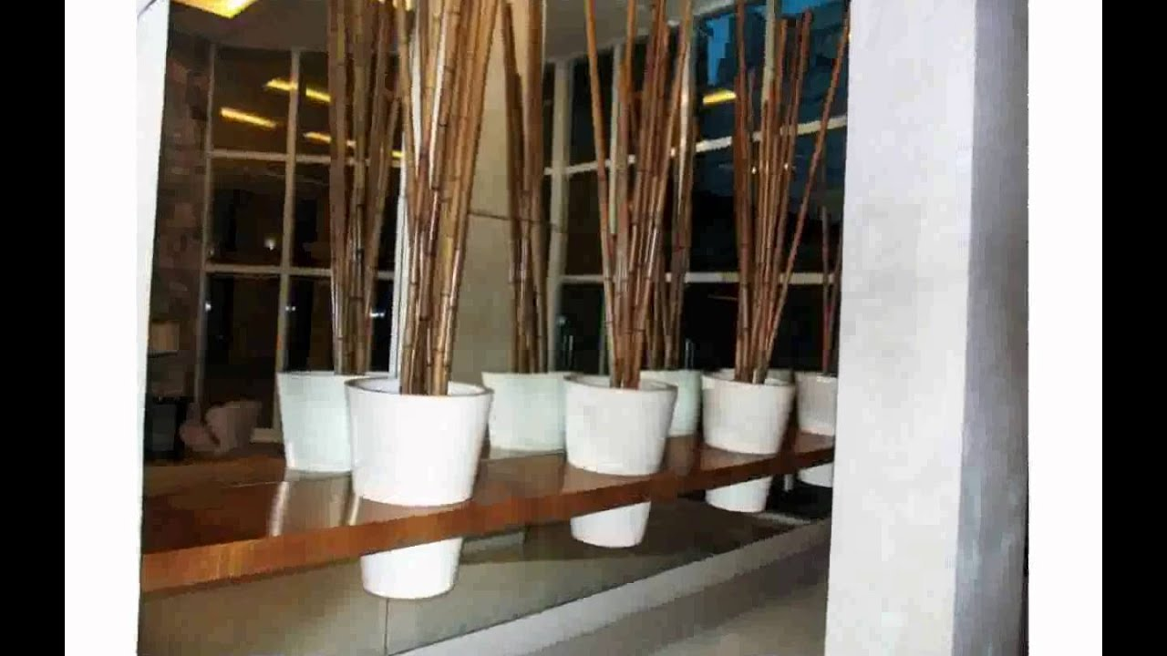 Bamboo home decor youtube for Art for house decoration