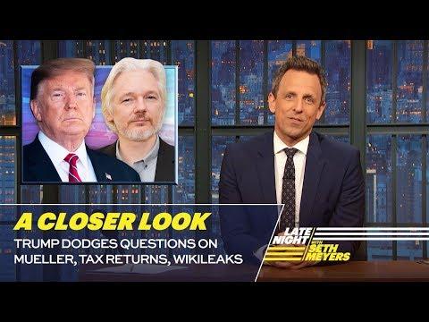 Trump Dodges Questions